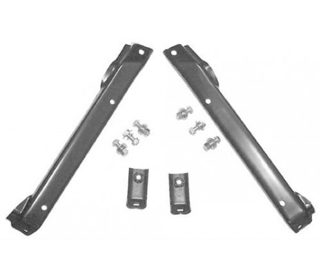 1971-1972 Inner & Outer Bracket Kit with Frame Hardware (exc. GMC) - Classic Muscle (12347)