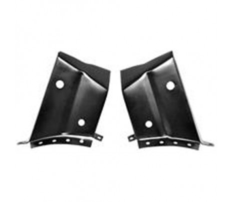 1968-1972 Chevelle Trunk Hinge Package Tray Exts - Classic Muscle (1489DA1)