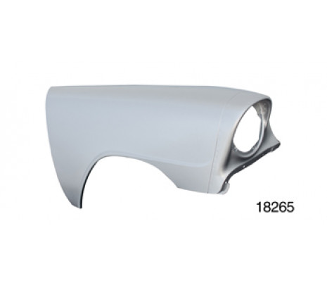 1956 Belair/150/210 Right Fender, No Holes (TRUCK FREIGHT) - Classic Muscle (3722788)