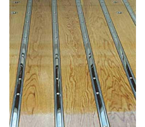 1960-1966 C10 Stepside Short Bed Stainless Steel (unpolished) Bed Strips Set (OVERSIZE ITEM) - Classic Muscle (110020-M)
