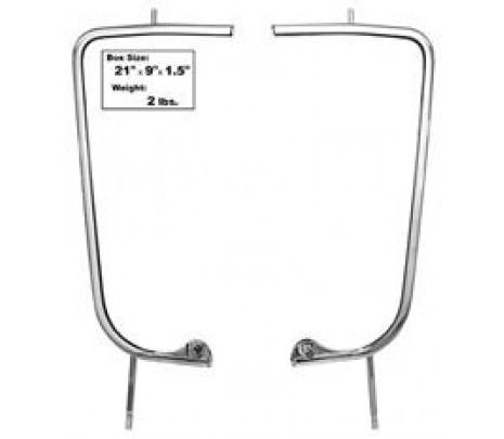 DISCONTINUED     55-59 GM TRUCK CHROME VENT WINDOW FRAMES (no glass) - Classic Muscle (1103XBF)