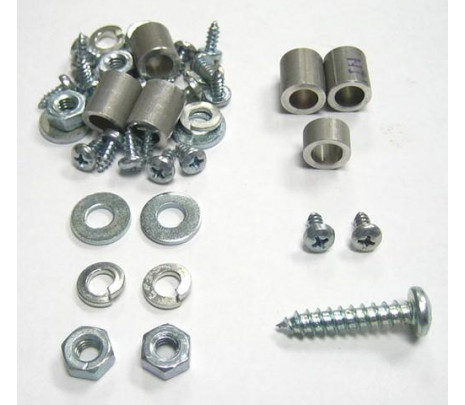 1955-1956 Heater Box Hardware Kit - Classic Muscle (12907-128)