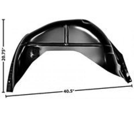 1970-72 Chevelle RH Inner Wheelhouse (convertible) - Classic Muscle (1472Q-104)