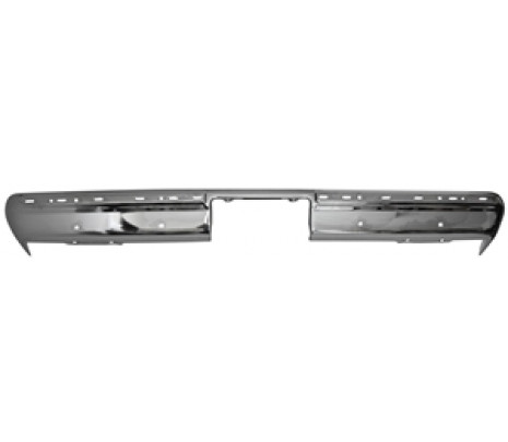 1981-87 C10/GMC Fleetside Chrome Rear Bumper with holes (OVERSIZE ITEM) - Classic Muscle (7811R)