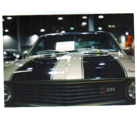 1969 Camaro Z28 & Pace Car Stencil Kit - Classic Muscle (1050688-A)