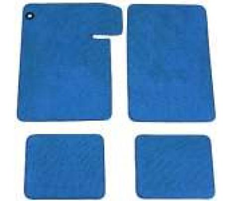 1964-67 Chevelle Dark Blue floor mats, 4 pieces - Classic Muscle (9205-07)