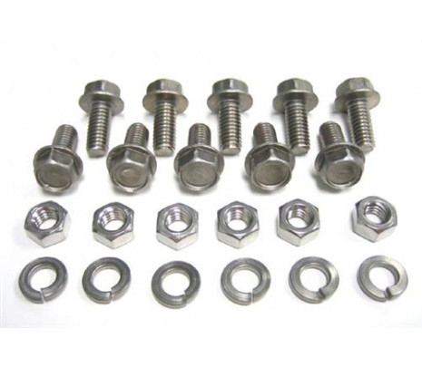 1954-1972 C10 Frt Bed Panel Mounting Bolt Kit - Classic Muscle (100617-M)