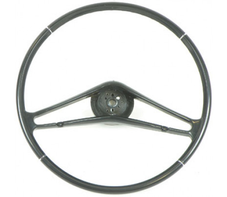 "1959-60 Full Size Chevrolet 17"" Steering Wheel Bare Black - Classic Muscle (9164B)"