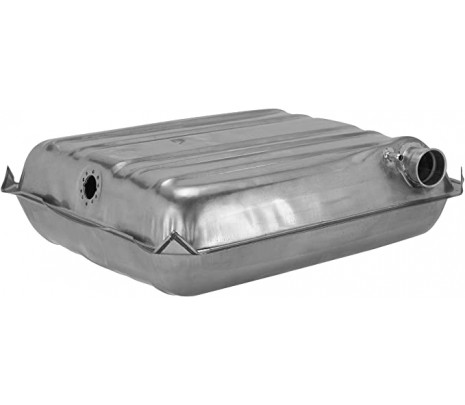 1957 Chevy 150/210/Bel Air Series 16 Gallon Fuel Tank Correct Square Corners (excluding Wagon) Inc Screws & O'ring - Classic Muscle (GM28D)