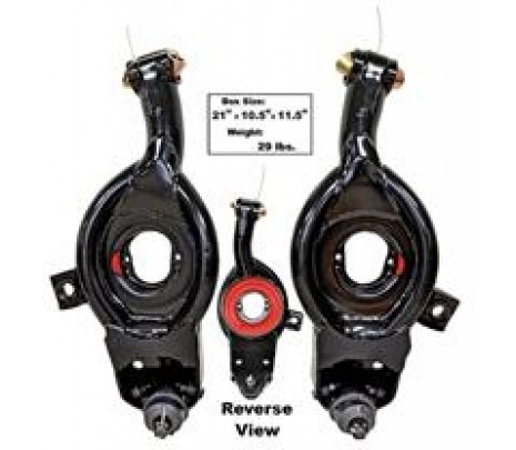 1965-70 Bel Air/Biscayne/Impala/Caprice Front Lower Control Arms (pair) Complete - Classic Muscle (1708E104)