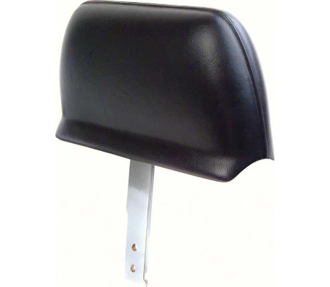 1967 Camaro Black Headrest Assembly (Pair) - Classic Muscle (7677884)