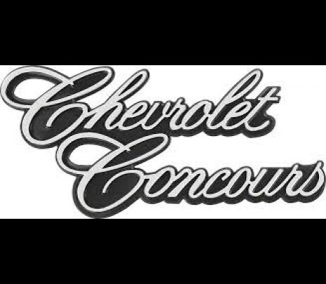 """1977 Nova """"Chevrolet Concours"""" Trunk Lid Emblem - Classic Muscle (20014406)"""