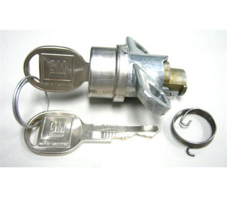 1970-73 Camaro Trunk Lock Cyl. Later Key - Classic Muscle (114-CL)