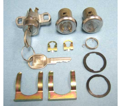 1970 Later Key (short door cylinder) - Classic Muscle (185-CL)