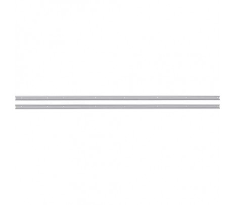 1954-1955 Stepside Long Bed Angle Strips Stainless Steel Polished [pr] OVERSIZE ITEM - Classic Muscle (110133-M)