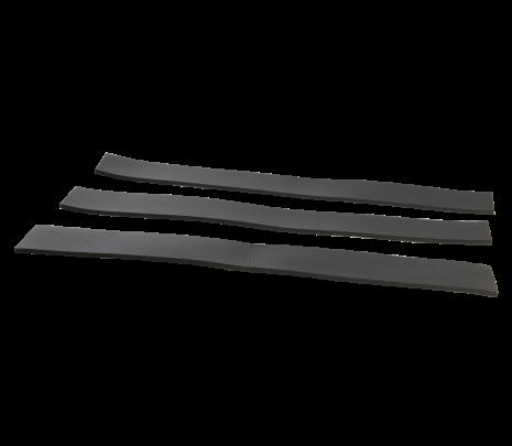 1967-72 C10 Hood Brace Pad Set (3 pcs) - Classic Muscle (849719)