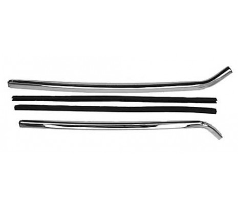 1967-1969 Channel Set (includes glass edge sealing strips) - Classic Muscle (13701R)