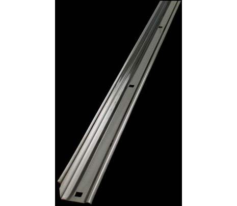 1947-53 Stepside Long Bed Angle Strips Stainless Unpolished (pair) OVERSIZE ITEM - Classic Muscle (110131-M)