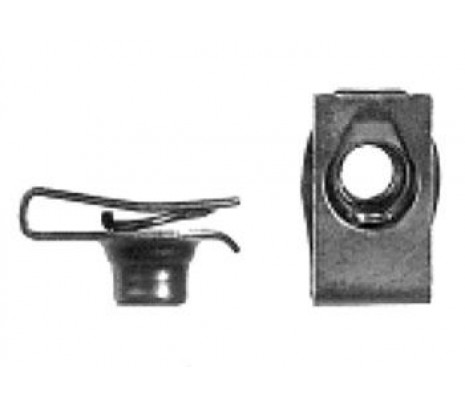 1972 Support Mounting Clip Nut - Classic Muscle (1494253)