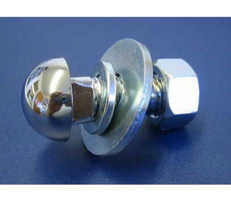 1960-1972 Bolt with Washers & Nuts (chrome bolt) - Classic Muscle (1116R)