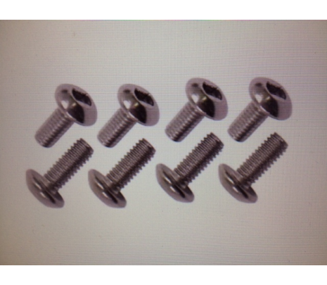 1955-59 Chevy Truck Stainless Steel seat track to floor bolt kit (8 pcs) - Classic Muscle (553130)