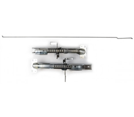 1955-56 Bel Air/150/210 2&4 Door Seat Tracks (pair 2 pieces) - Classic Muscle (1355TS)