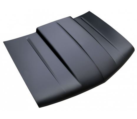 1988-98 Chevy Pickup Widebody Cowl Induction Style Hood (TRUCK FREIGHT) - Classic Muscle (0852-039)