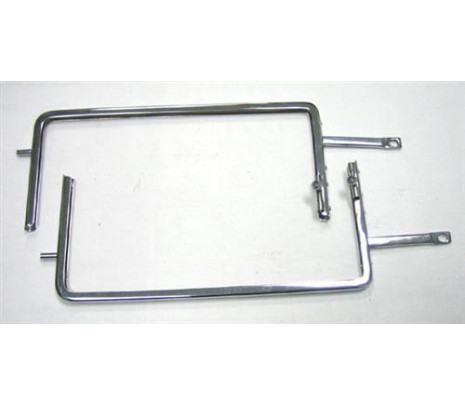 1955-1957 Vent Window Frames with Locks (exc. Hardtop models & Convertible) - Classic Muscle (41563201A)