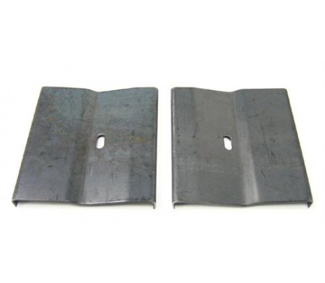 1969 Grab Handle Retainer Plates - Classic Muscle (3948552)