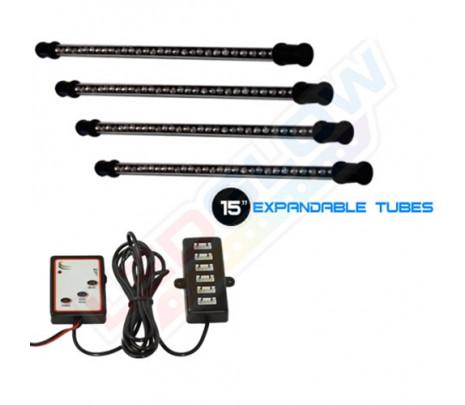 4PC 7 Color LED Light Kit - Classic Muscle (RP6001)