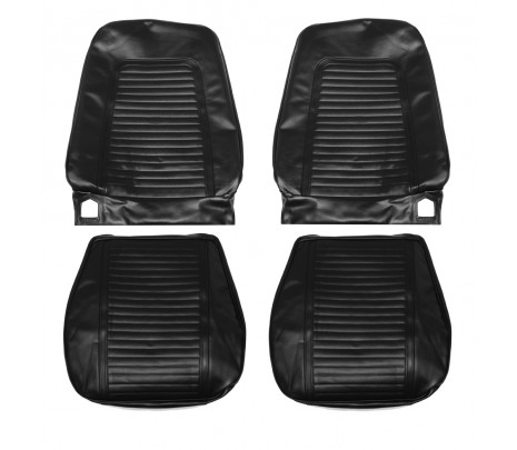1969 Camaro Front Bucket Seat Covers ,Standard Interior - Classic Muscle (69FS10U)
