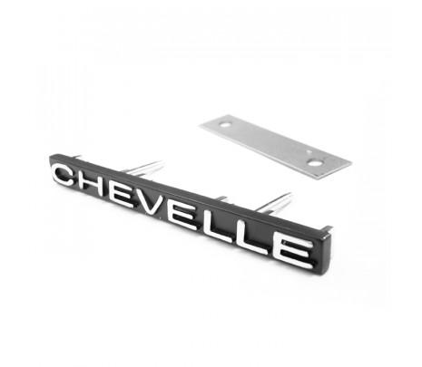 1971 Chevelle Grille Emblem CHEVELLE (import) - Classic Muscle (1160C)