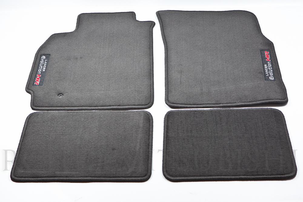 Genuine Mitsubishi Evolution  EVO MR  Black Carpet Floor Mats - Mitsubishi (MZ313291)
