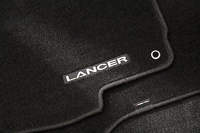 FREE SHIPPING!  Black Lancer Carpet Floor Mats, set of 4 - Mitsubishi (MZ312876)
