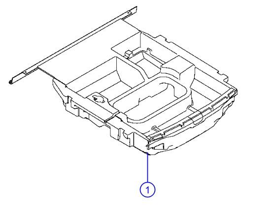 Genuine Alfa Romeo Bin-Floor Cargo Organizer - Mopar (68413614AA)