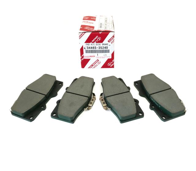 OEM Front Brake Pad Set | 1996-2002 4Runner - Toyota (04465-35240)