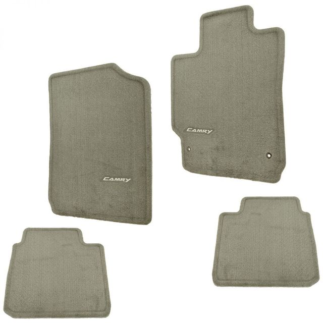 Genuine toyota camry carpet floor mats taupe pt206 32100 45 for Original toyota floor mats