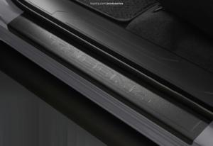 Tacoma Door Sill Protectors | 4 Piece Set | 2016-2021 Double Cab Tacoma - Toyota (PT747-35201-02)