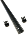 Tacoma Bed Front Header Accessory Rail with End Caps   2010-2019 Tacoma - Toyota (PT278-35100-BH-KIT)