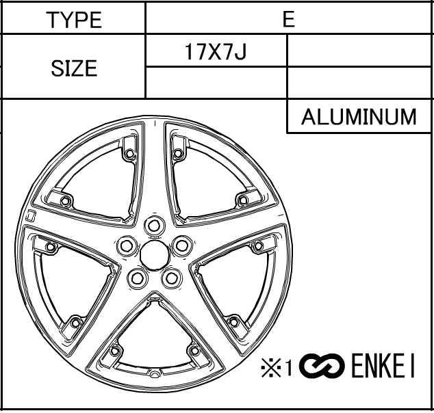 Wheel - Toyota (42611-47150)