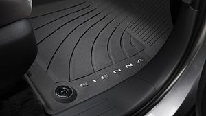 Sienna All-Weather Floor Liners | 2021 Sienna 7 Passenger - Toyota (PT206-08210-02)