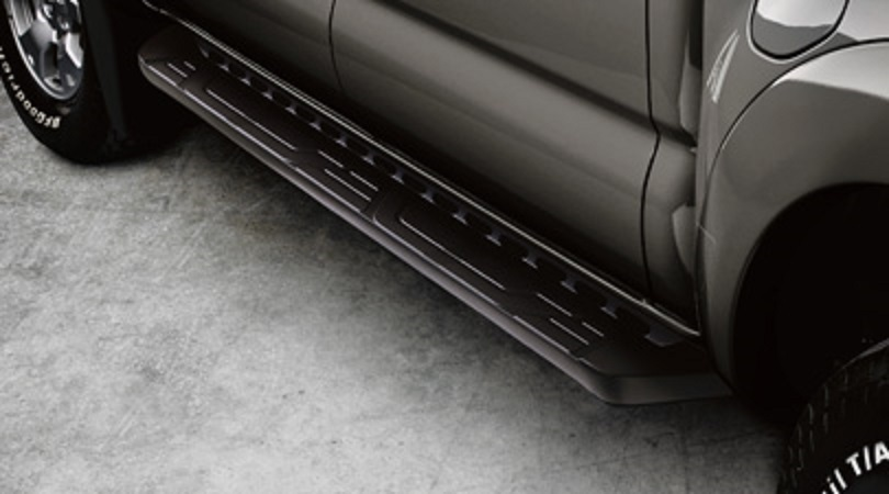 Genuine Toyota Running Boards | Black | 2005-2015 Tacoma Double Cab - Toyota (PT212-35055)