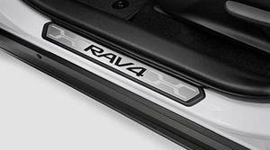 Rav4 Door Sill Protectors | 4 Piece Set | 2019 Rav4 - Toyota (PK382-42K01)