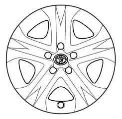 Wheel Cover - Toyota (42602-0R030)