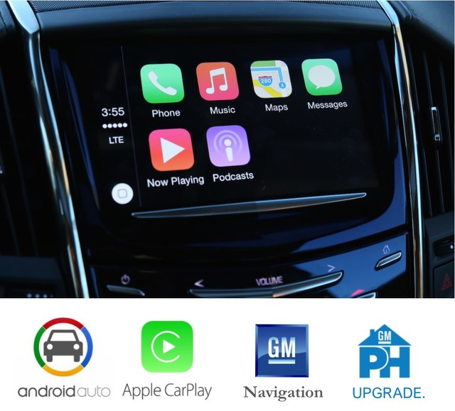 Cadillac CUE 2.5 Upgrade Apple Android Nav - GM (CUE1316UP)