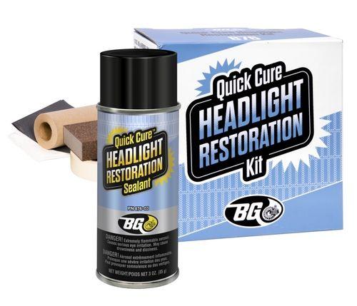 BG Quick Cure Headlight Restoration Kit - BG (BG876)