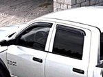 Side Window Air Deflector, Tinted, Set Of Two - Mopar (82213486AB)