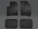 Floor Mats, Slush Set, Black - Mopar (82213476)