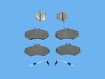 Disc Brake Pad Set - Mopar (5103557AA)