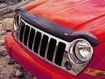 Air Deflector, Hood, Jeep Logo, Tinted - Mopar (82207938AB)